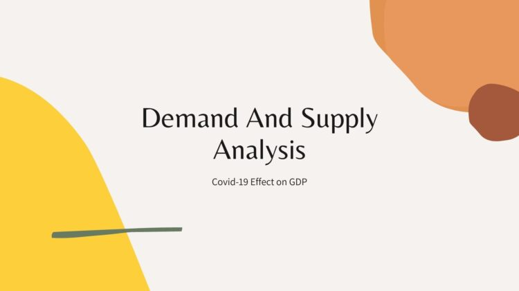 Pandemic Demand And Supply Analysis