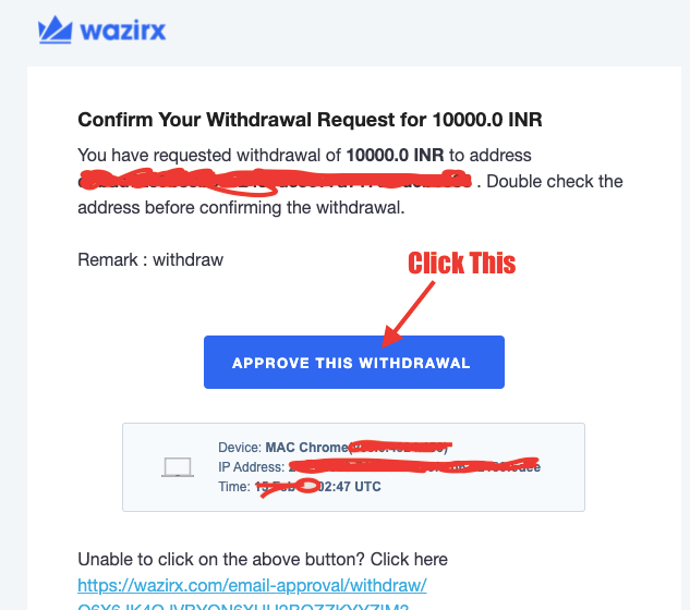 How To Withdraw Money From WazirX to Bank Account