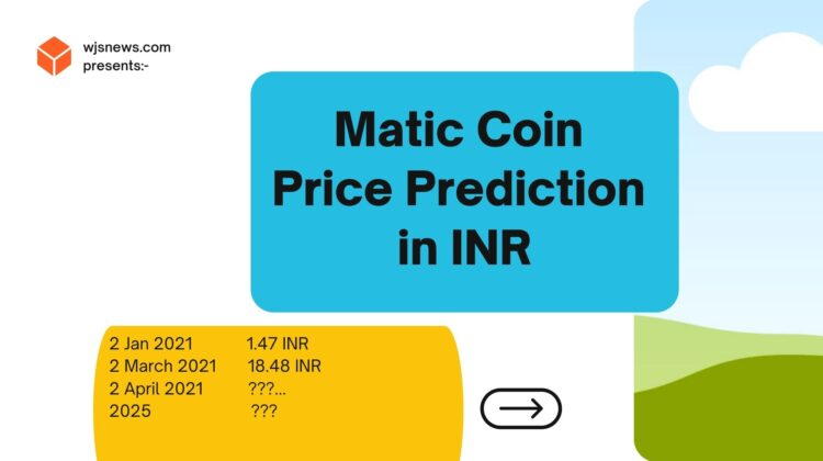 Matic Coin Price Prediction INR