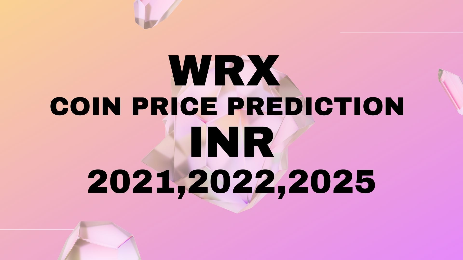 WRX Coin Price Prediction in InR