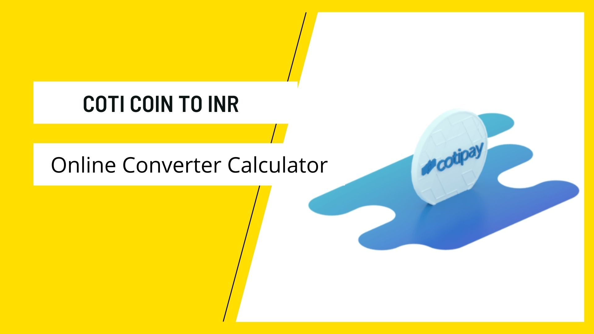 COTI COIN TO INR