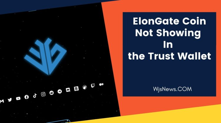 ElonGate Coin Not Showing In the Trust Wallet