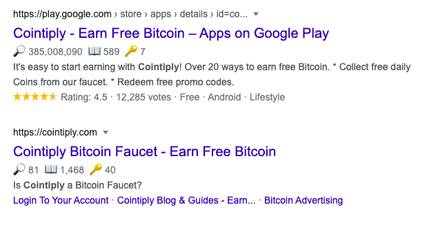 Websites to earn free bitcoins