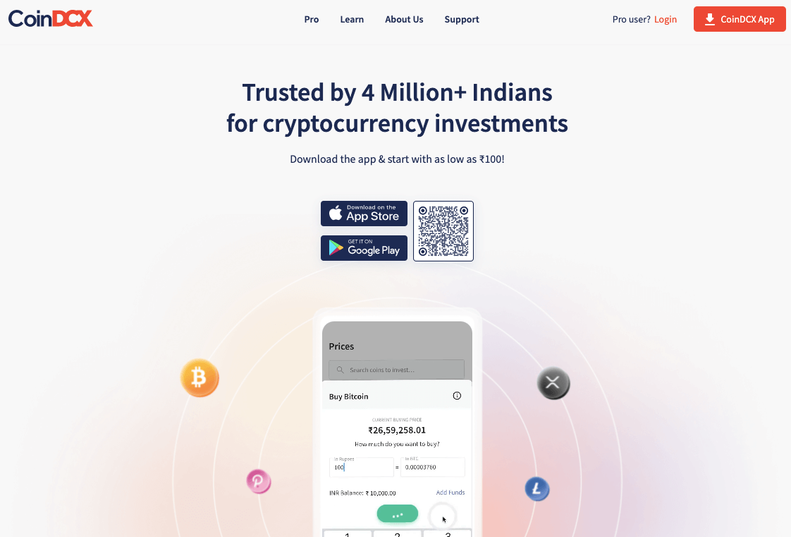 Best Crypto Exchange in India With Low Fees