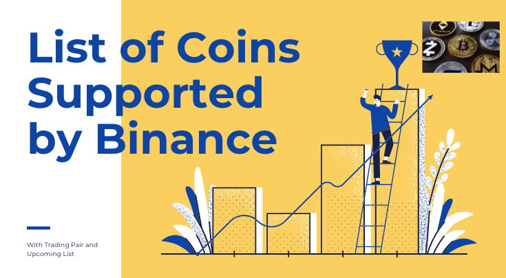 List of Coins Supported by Binance