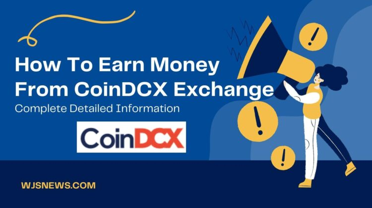 How To Earn Money From CoinDCX Exchange