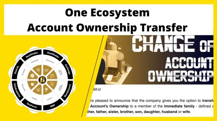 One Ecosystem Account Ownership Transfer